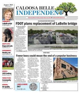 Caloosa Belle front page